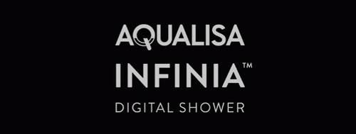Additional image for Digital Shower & Remote (Chrome & White Tondo Handles, GP).