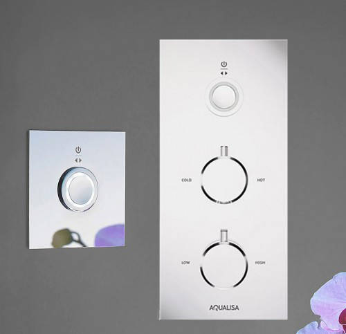Additional image for Digital Shower & Remote (Chrome Tondo Handles, HP).