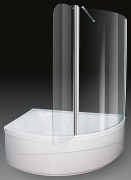 Corner Shower Bath With Screen Left Hand 1500x1000mm