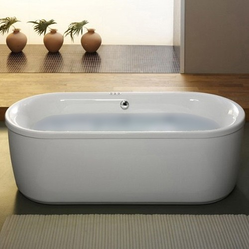 Additional image for Freestanding Bath With Panel. 1800x800mm.