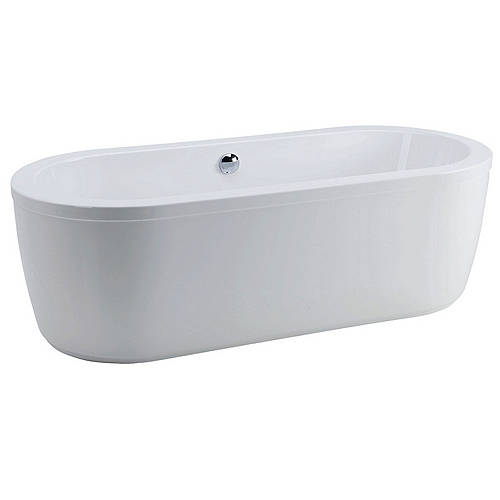 Additional image for Free Standing Acrylic Bath With Surround.  1800x800mm.