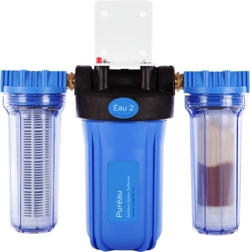 Additional image for Eau2 Combined Saltless Water Softener & Drinking Water Filter.