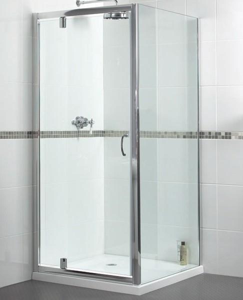 Shower Enclosure With Pivot Door 800x800mm Square