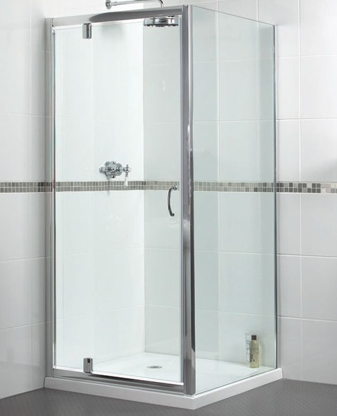 Additional image for Shower Enclosure With 800mm Pivot Door. 800x900mm.