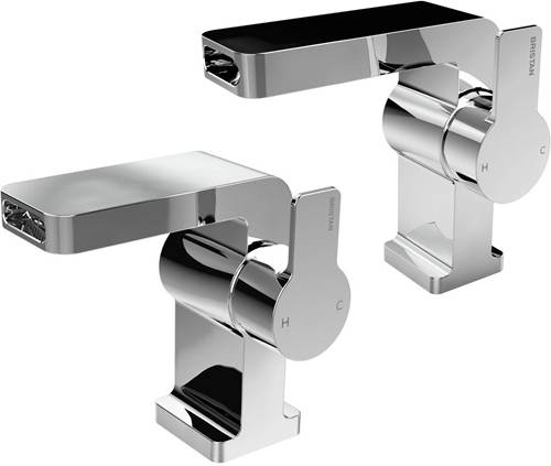 Additional image for Waterfall Basin & 1 Hole Bath Filler Tap Pack (Chrome).