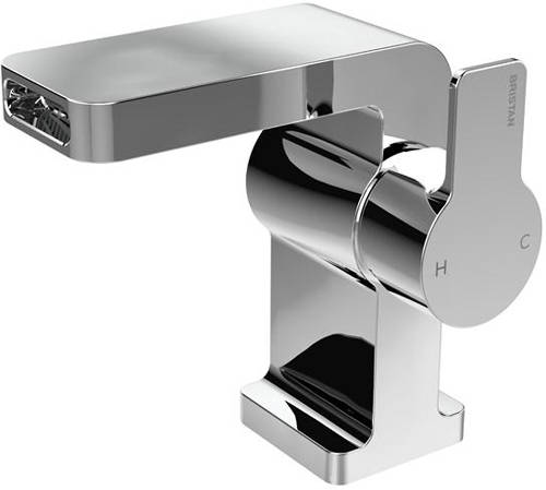 Additional image for Waterfall Basin & 2 Hole Bath Shower Mixer Tap Pack (Chrome).