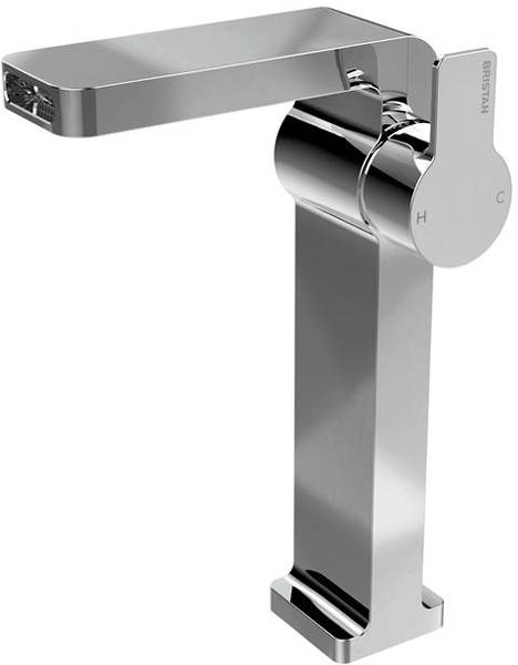 Additional image for Waterfall Tall Basin & 2 Hole Bath Shower Mixer Tap Pack.
