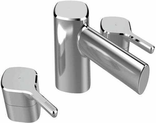 Additional image for Mono Basin Mixer & 3 Hole Bath Filler Tap Pack (Chrome).