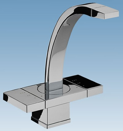 Additional image for Mono Basin Mixer Tap With Pop Up Click Waste (Chrome) 72820.