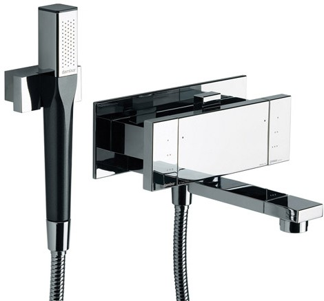Thermostatic Wall Mounted Bath Shower Mixer Tap 72500