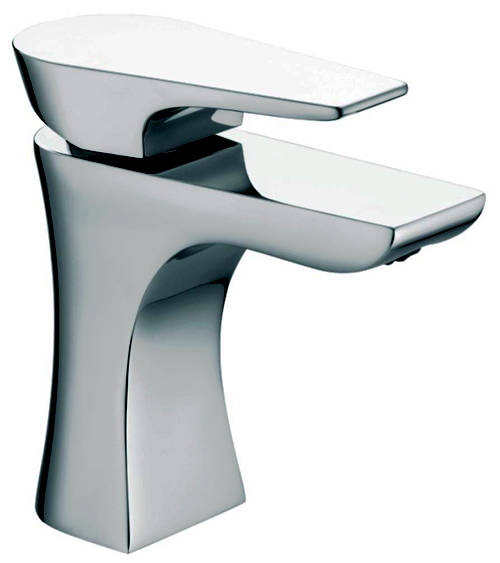 Additional image for 5 Hole Bath Shower Mixer & Basin Tap Pack (Chrome).