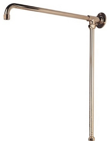 Additional image for Fixed Rigid Riser Rail, Gold Plated.