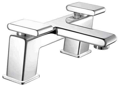Additional image for Basin & Bath Filler Taps Pack (Chrome).