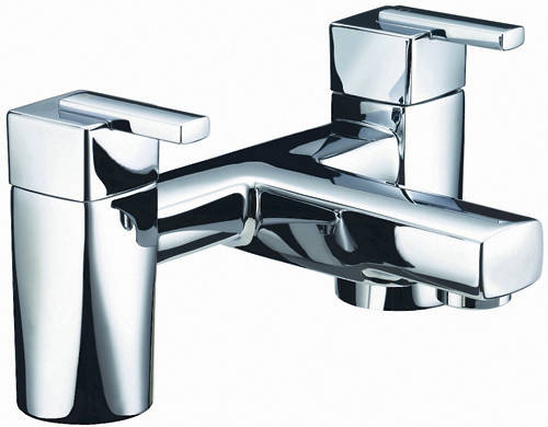 Additional image for Tall Basin & Bath Filler Taps Pack (Chrome).