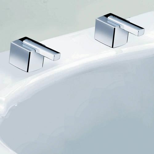Single Hole Single Lever Handle Control Bathroom Luxury Gold Color Mixer  Valve Water Tap Valve Sink