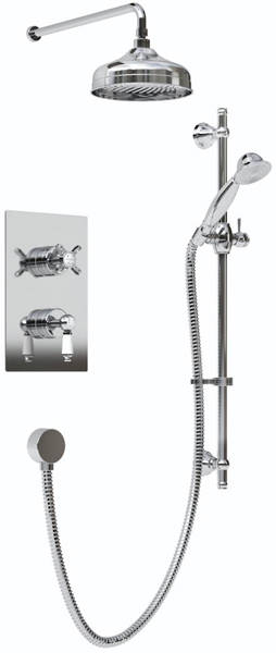 Additional image for Thermostatic Recessed Dual Control Shower Pack.