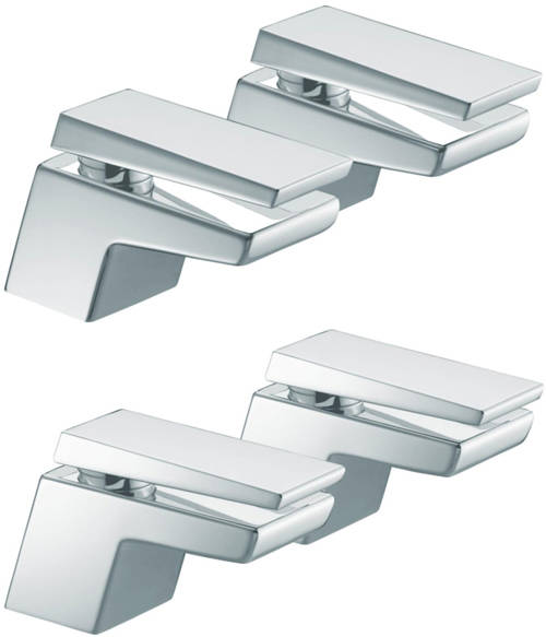 Additional image for Basin & Bath Taps Pack (Chrome).