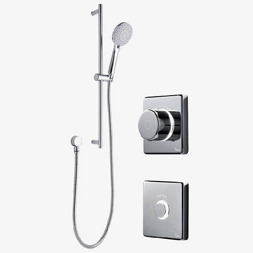 Additional image for Digital Shower Valve, Remote & Slide Rail Kit (LP).