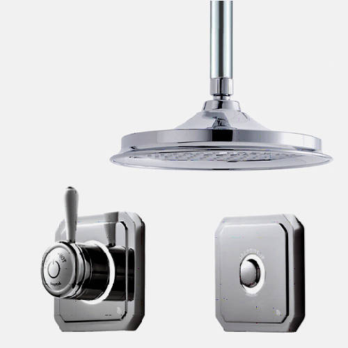 "Additional image for Digital Shower Valve, Remote & 12"" Shower Head (HP)."