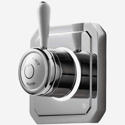 """Additional image for Digital Shower Valve, Remote & 6"""" Shower Head (HP)."""