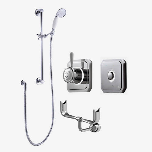 Additional image for Digital Shower, Processor, Remote, Slide Rail Kit & Cradle (HP).