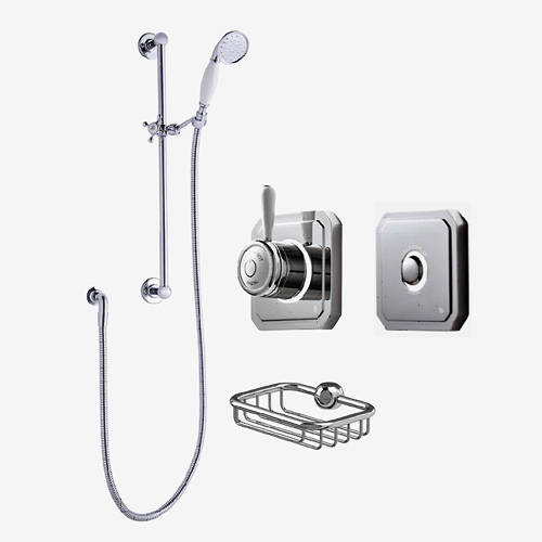 Additional image for Digital Shower Valve, Processor, Slide Rail Kit & Remote (HP).