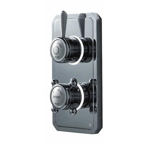 """Additional image for Digital Shower Pack, Bath Filler, 9"""" Head & Remote (HP)."""
