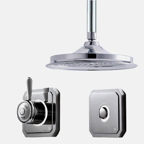 """Additional image for Digital Shower Valve, Remote & 9"""" Shower Head (LP)."""