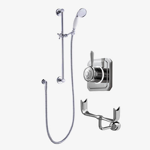 Additional image for Digital Shower Valve, Processor, Slide Rail Kit & Cradle (LP).