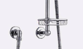 """Additional image for Digital Shower Pack, Rail, Basket, 9"""" Head & Remote (LP)."""