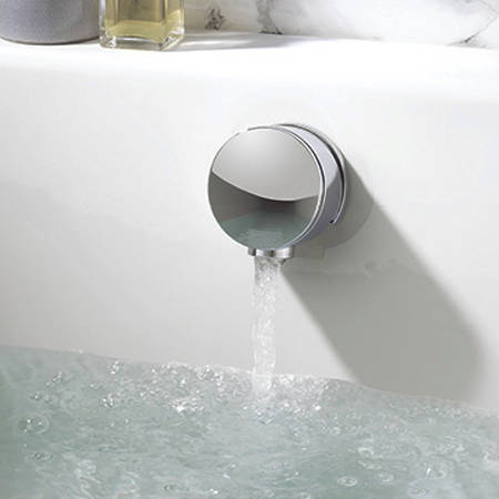"""Additional image for Twin Digital Shower Pack With Bath Filler & 12"""" Head (LP)."""
