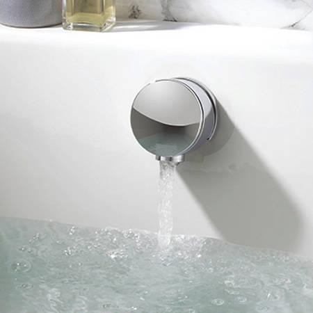 """Additional image for Digital Shower Pack, Bath Filler, 9"""" Head & Remote (LP)."""