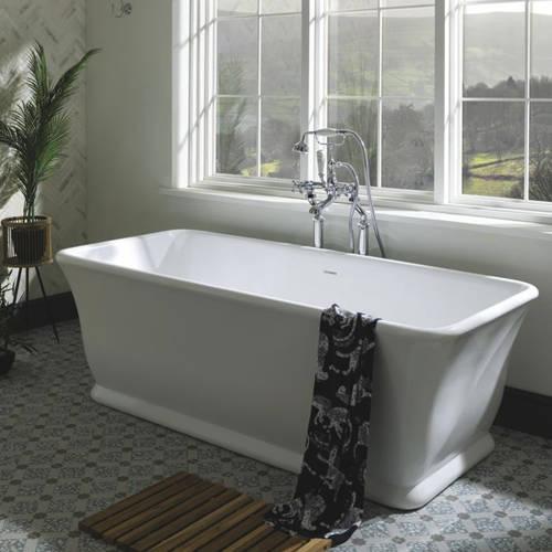 Additional image for Magnus Bath 1680mm (Polished White).