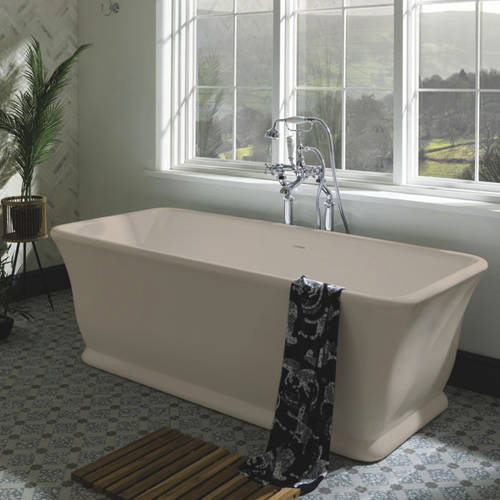 Additional image for Magnus ColourKast Bath 1680mm (Light Fawn).