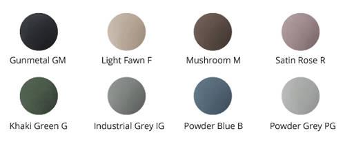 Additional image for Magnus ColourKast Bath 1680mm (Gunmetal).
