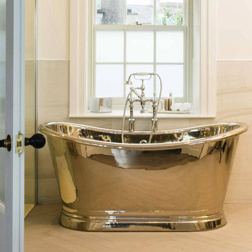 Additional image for Nickel Boat Bath 1700mm (Nickel Inner/Nickel Outer).