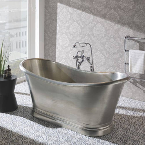 Additional image for Tin Boat Bath 1700mm (Tin Inner/Tin Outer).