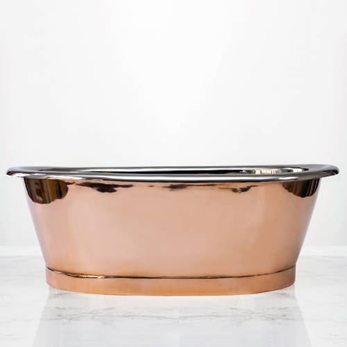 Additional image for Copper & Nickel Basin 530mm (Nickel Inner/Copper Outer).