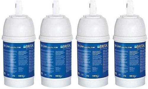Additional image for 4 x Brita P1000 Filter Cartridge.