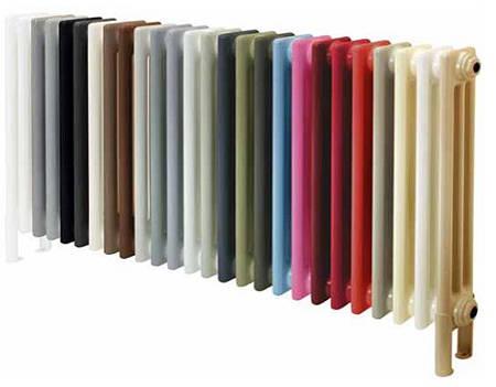 Additional image for Heated Towel Rail & Wall Brackets 1080x500 (Jet Black).