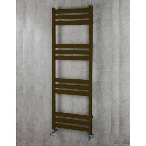 Additional image for Heated Towel Rail & Wall Brackets 1500x500 (Nut Brown).