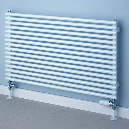 Additional image for Chaucer Single Horizontal Radiator 538x1520mm (White).