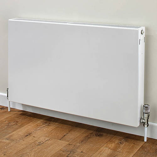 Additional image for Faraday Type 22 Radiator 300x1200mm (K2, White, 3593 BTUs).