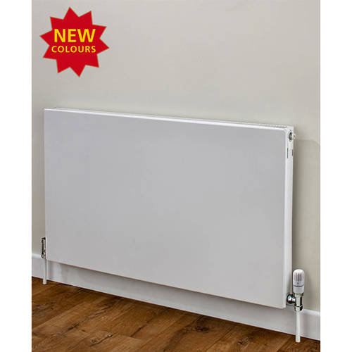 Additional image for Faraday Type 11 Radiator 400x1400mm (K1, White, 3023 BTUs).
