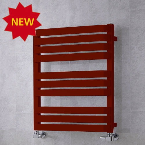 Additional image for Heated Towel Rail & Wall Brackets 785x500 (Purple Red).