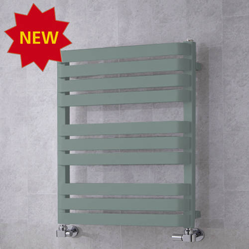 Additional image for Heated Towel Rail & Wall Brackets 785x500 (Traffic Grey A).
