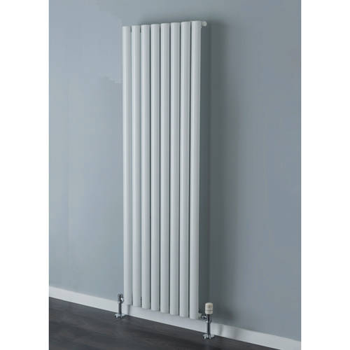 Additional image for Tallis Single Vertical Radiator 1820x300mm (White).