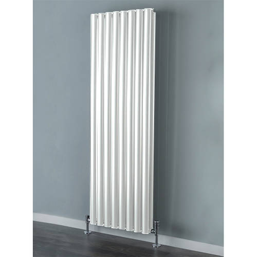 Additional image for Tallis Double Vertical Radiator 1820x300mm (White).