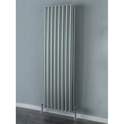 Additional image for Tallis Double Vertical Radiator 1820x300mm (Traffic Grey).