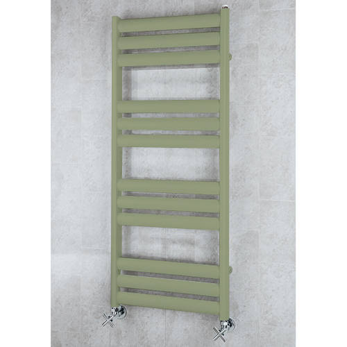 Additional image for Heated Ladder Rail & Wall Brackets 1060x500 (Reed Green).